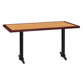 "60"" x 30"" Standard Height Table with T Base, T11866"