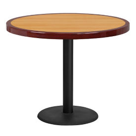 "36"" Round Standard Height Table with Round Base, T11871"