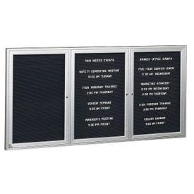 "Aluminum Indoor Directory Board 72""x48"", B20625"