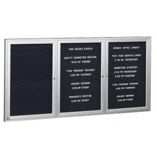 "Aluminum Indoor Directory Board 72""x36"", B20624"