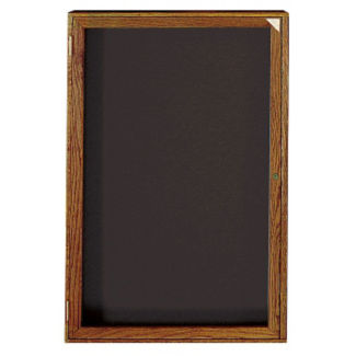"Walnut Frame Indoor Directory Board 30""x36"", B20649"