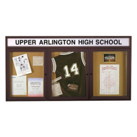 "Outdoor Bulletin Board 96""wx48""h, B20783"