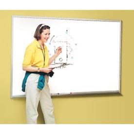 Melamine White Board with Aluminum Frame 5' x 4', B20852