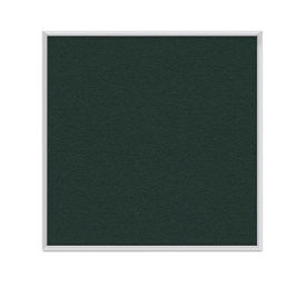 Vinyl Tack Board with Aluminum Frame 4'W x 4'H, B23453