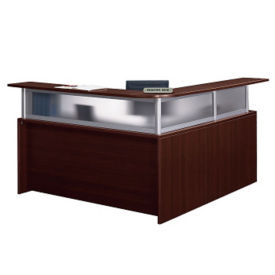 Reception L Desk with Left Return, W60547