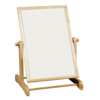 "Tabletop Whiteboard and Chalkboard - 44""H, B23352"