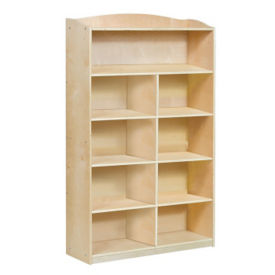 "Six Shelf Bookshelf with Optional Dividers - 60""H, B34579"