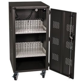 "30 Bay Tablet Charging Cart - 42""H, M16336"