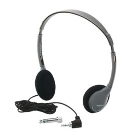 On Ear Personal Mono Stereo Headphones, M10348