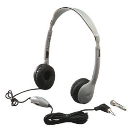 Mono/Stereo Headphones with Inline Volume Control, M10365