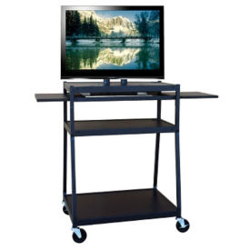 Wide Body Flat Panel TV Cart, M16175