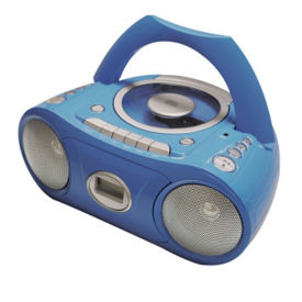 CD and Cassette Player with Bluetooth, M16365