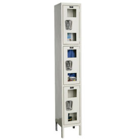 "3 Tier See-Through Locker - 12""D, B34121"