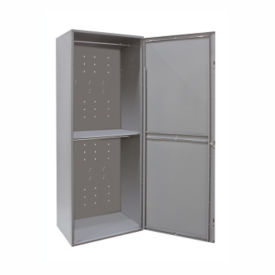 "Uniform Locker Double Tier - 84""H, B34153"
