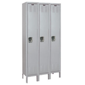 "1 Tier 3 Wide Medical Locker - 36"" W, B34159"