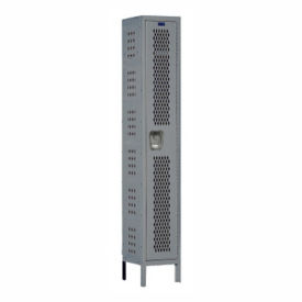 "1-Tier Ventilated Locker 12"" W x 15"" D, B34175"