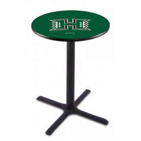 "College Logo X-Base Table - 36""DIA x 36""H, T11662"