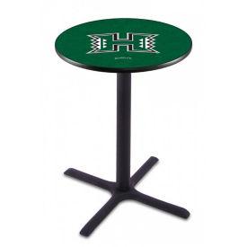 "College Logo X-Base Table - 36""DIA x 36""H, T11662"