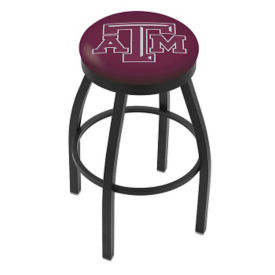 "Stool with Vinyl College Logo - 30""H, C80453"