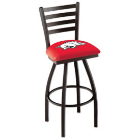 "College Logo Swivel Stool with Back 25""H, C80482"