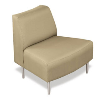 Outside Curve Chair with Fabric Upholstery, W60648