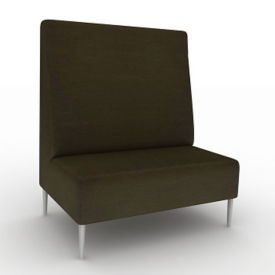 Vinyl High-Back Collaborative Chair , W60749