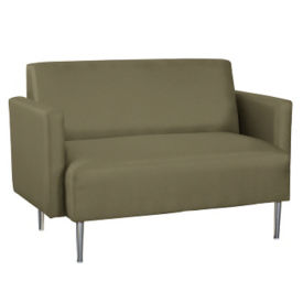Fabric Lounge Loveseat, W60750