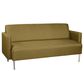 Vinyl Contemporary Lounge Sofa , W60768