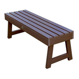 "Synthetic A Frame Outdoor Bench 48""W, F10009"