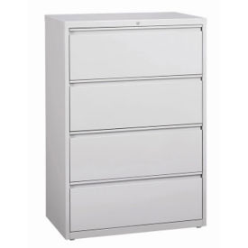 "Four Drawer Lateral File 36""W, L40796"