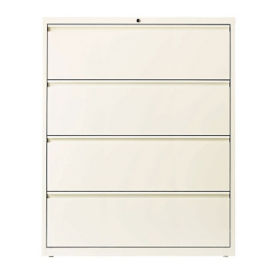 "Four Drawer Lateral File - 42""W, L40856"