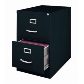 "25""D Two Drawer Legal Vertical File , L40809"