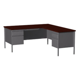 "L-Desk with Right Return-72""W , D32159"