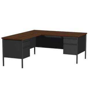 "L-Desk with Left Return-66""W , D32160"