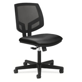HON Volt Armless Fabric and Mesh Computer Chair, C80231