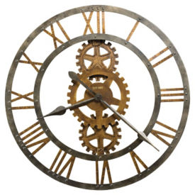 "Metal Wall Clock- 30"", V21857"