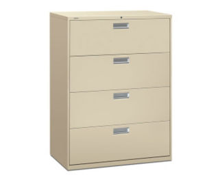 "Four Drawer Lateral File - 42""W, L40347"