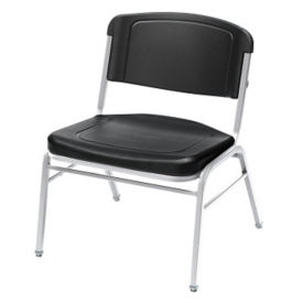 Wide Heavy Gauge Steel Frame Stack Chair, C67828
