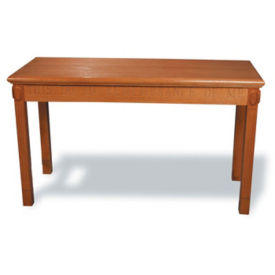 """Wood Stained Communion Table - 54""""W x 22""""D, C30140"""
