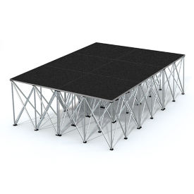 "Rectangular Stage Set - 12'W x 32""H, P60048"