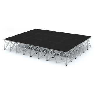 Rectangular Stage Set - 12'W x 24'H, P60051