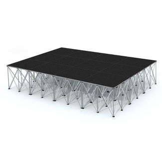 Rectangular Stage Set - 12'W x 16'H, P60052