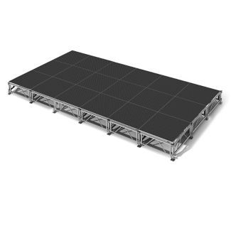 "All Terrain Vinyl Top Stage Set - 12'W x 24""D, P60370"