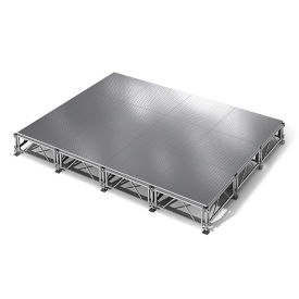 "All Terrain Aluminum Stage Set - 12'W x 16""D, P60372"