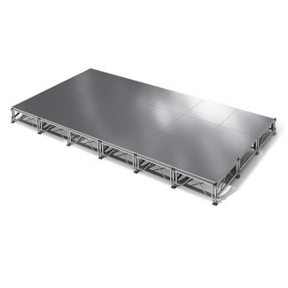 "All Terrain Aluminum Stage Set - 12'W x 24""D, P60373"