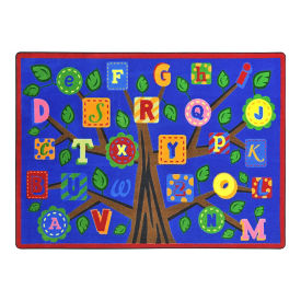 "Alphabet Leaves Rectangle Rug - 13'2"" x 10'9"", P30437"