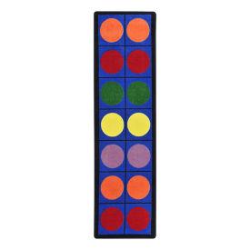 "Lots of Dots Carpet Runner - 7'8"" x 2'1"", P30420"
