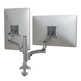 Kontour Reduced Height Dynamic Double Monitor Desk Mount, E10287