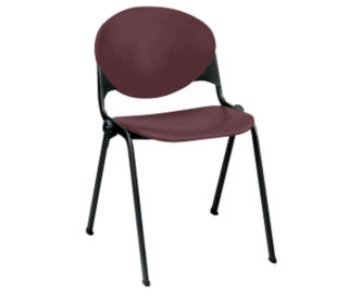 Heavy Duty Poly Stack Chair, C60192