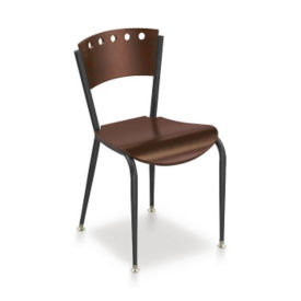 Contemporary Styled Cafe Chair, K00012